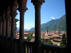 Veduta sulla città dalla loggia veneziana