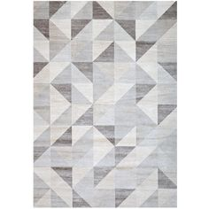 Merveilleux Unbranded Sonoma Colburn Silver Grey 5 Ft. X 8 Ft. Area Rug