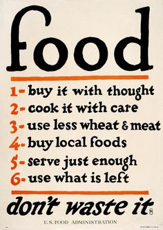 Food...with thought