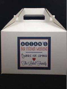 Hey, I found this really awesome Etsy listing at https://www.etsy.com/listing/196136074/bar-mitzvah-bar-mitzvah-guest-gift-boxes