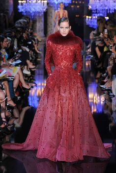 Elie Saab Haute Couture fall 2014 collection