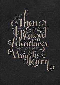 #adventures
