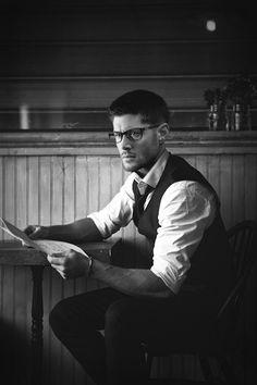 """1940sdeancas: """" version w/o glasses """""""