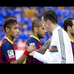 Gareth Bale and Neymar Jr  FC Barcelona vs Real Madrid  El Classico 2013