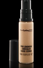 MAC Prolong-wear Concealer. Medium to full coverage without being thick or cakey. Long lasting