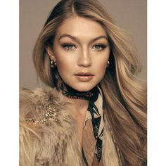 Gigi Hadid Covers Vogue Spain March 2015, Lensed By Benny Horne Anne... ❤ liked on Polyvore featuring gigi hadid, gigi and people