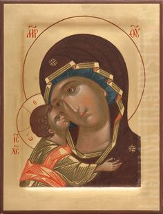 Orthodox Christian Icons in Catalog of St Elisabeth Convent Fine Art, Composition Painting, Hand Painted, Painting, Paint Icon, Orthodox Christian Icons, Art, Madonna And Child, Painting Studio