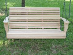 DIY Porch Swing Plans Free |  Woodworking Plans and