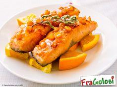 Salmone all'Arancia - Scopri la Ricetta - Ingredienti, Preparazione passo passo e Consigli Utili per ottenere il salmone all'arancia.