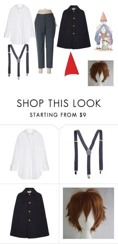 """""""wirt (over the garden wall)"""" by foxyweebo on Polyvore featuring Marques'Almeida, Yves Saint Laurent, Apt. 9 and WALL"""