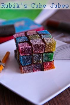 Rubik's Cube Jubes & Make Your Own Jubes!