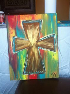 hand+painted+cross+decor | Add it to your favorites to revisit it later.
