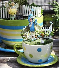 Flower Fairy Garden Fairy ~ THIS SITE ROCKS for all your fairy garden needs and information!