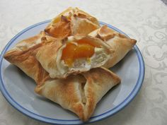 Koperty francuskie z twarogiem i morelą5 Spanakopita, Ethnic Recipes, Food, Eten, Meals, Diet