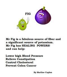 http://justeatveggies.com/welcome-food-remedies/ FOOD REMEDIES: By Marline Caplan. Mr Fig