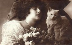 bumble button: Very cute Victorian cat and kitten pictures. free ...
