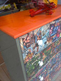 Decoupage Table Top Ideas