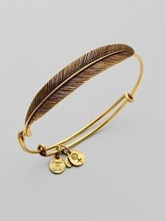 Alex and Ani gorgeous feather #bracelet. Perfect for #fall.