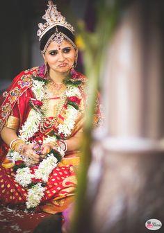 A lovely bride :)  #tamilwedding #Hinduwedding #beautiful #indianbride #candidwedding #candidshot