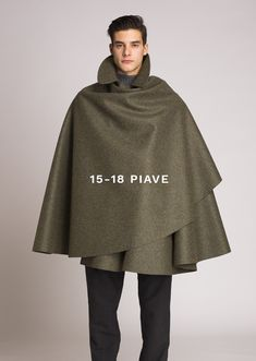 Homepage - Tabarrificio Veneto Capes, Fashion Games, Fashion Outfits, Mens Cape, Mens Poncho, Cape Designs, Native Wears, Rain Gear, Elegant Man