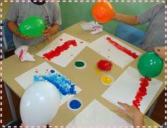 Sensei Line-Chan: Técnicas de pintura para Educação Infantil