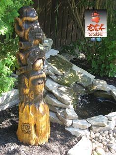 ( TOTEK )   ( 3SINGES ) 16'' x 48'' Spruce  ( http://www.valleesecrete.com/ )   St-Raymond - Québec - Canada.
