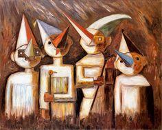 Przebrane dzieci. Olej na płótnie z 1929 roku. Cool Stuff, Artist, Painting, Poland, Inspiration, Image, Deep, Pictures, Biblical Inspiration