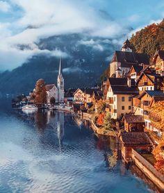 Fotografka cestuje po Európe a fotí ju v čarokrásnej jeseni