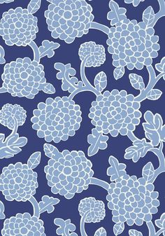 NIKKO, Blue and Navy, T16015, Collection Resort from Thibaut #joecornfields #blue