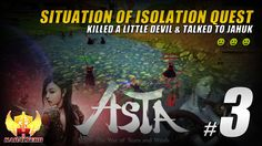 In this Asta Online gameplay / let's play video, I completed the Situation Of Isolation quest and it was a quest given by Wanse, a Gold Dragon Society Soldie...