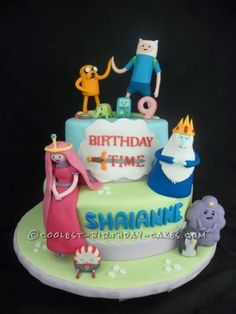 Coolest Adventure Time Cake