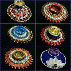 Diy Crafts Slime, Cd Crafts, Diy Craft Projects, Diy And Crafts, Arts And Crafts, Diya Decoration Ideas, Diwali Decorations, Festival Decorations, Diwali Craft