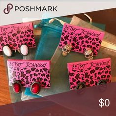 Are these fake? I was gonna buy.. but if there fake i dont want them.. Betsey Johnson Jewelry
