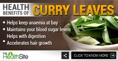 Click on the picture to know more! #CurryLeaves #Health #Benefits #Cooking #Food #Ingredient Curry Leaves, Fruits And Vegetables, Turmeric, Health Benefits, Spices, Herbs, Cooking Food, Spice, Fruits And Veggies