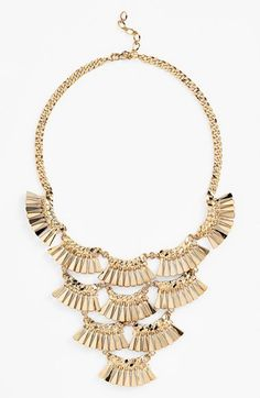 Nordstrom 'Fanfare' Bib Necklace available at #Nordstrom