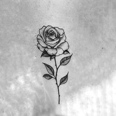Untitled - tattoo - Tattoo Designs For Women Little Tattoos, Mini Tattoos, Cute Tattoos, Flower Tattoos, Body Art Tattoos, Small Tattoos, Rosen Tattoo Frau, Rosen Tattoos, Tattoo Designs For Women