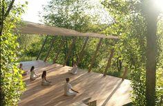 Yoga Retreat Italy Yoga Deck