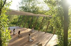 Yoga Retreat Italy Yoga Deck