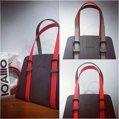 IOAIIIO|bicolor belt iconbag