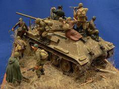 Dioramas and Vignettes: Soviet tank riders, photo #13