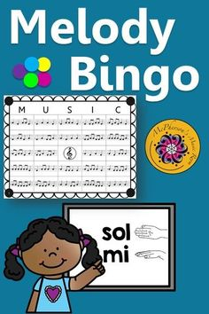 Looking for a music bingo game that utilizes rhythm and melody (sol/mi). Your classes will love this game that allows lots of winners! Use for whole group instruction, centers or with a substitute! Easy activity to add to lesson plan!