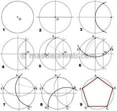 Geometry Pattern, Geometry Art, Sacred Geometry, Islamic Art Pattern, Pattern Art, Geometric Designs, Geometric Shapes, Geometry Formulas, Human Sculpture