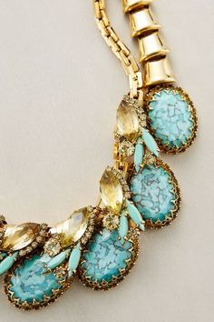Winstone Bib Necklace - anthropologie.com #necklace #searchub
