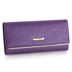 LLJUNDUI Women's Genuine Leather High Quality Long Design Hasp Clutch Multifunction Three-fold Card Holder Wallets Free Shipping