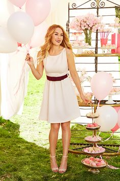 A chic peek at the new LC Lauren Conrad Celebrate collection at Kohl's