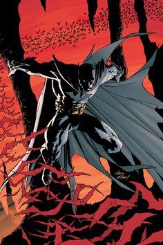 poster ilustrado de Batman