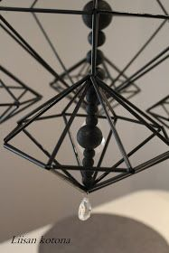 Liisan kotona: Liisan himmeli vuosimallia 2015 Ceiling Lights, Lighting, Home Decor, Decoration Home, Light Fixtures, Room Decor, Ceiling Lamps, Lights, Interior Design