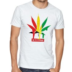 MEN'S RASTA LEAF TEE