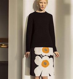Marimekko 2015 Autumn Ready to Wear Slow Fashion, Autumn Fashion, Marimekko Dress, Casual Outfits, Fashion Outfits, Mode Inspiration, Bodies, Ready To Wear, Knitting