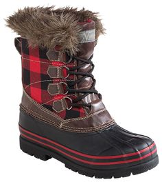 Natural Reflections Lumber Jill Insulated Pac Boots for Ladies | Bass Pro Shops: The Best Hunting, Fishing, Camping & Outdoor Gear